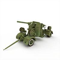 88毫米高射炮模型