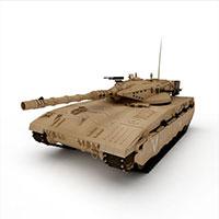 MERKAVA坦克模型