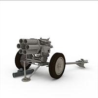 Nb15自行火炮模型