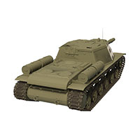 苏联SU-85反坦克模型