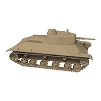 美国T14重型坦克模型
