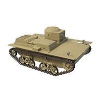 英式M2轻型坦克模型