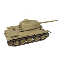 中式112重型坦克模型