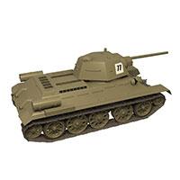 苏联T-34中型坦克模型