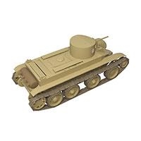 苏联BT-2轻坦克模型