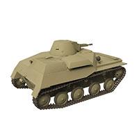美国M2轻型坦克模型