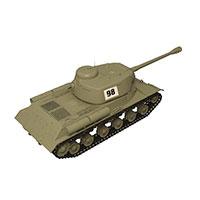 苏联T-34-85中型坦克模型