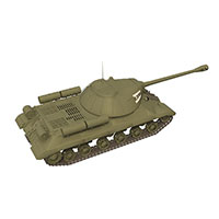 苏联907中型坦克模型