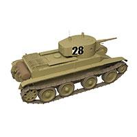 苏联BT-7轻型坦克模型