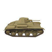 中式维克斯Mk.E轻坦克模型