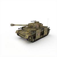 瑞士轻型坦克模型
