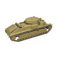 苏联T-28中型坦克模型