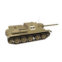 苏联SU-85坦克歼击车模型