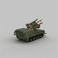 导弹装甲车模型