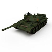 中国59式中型坦克模型