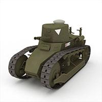 中式雷诺NC-31轻坦克模型