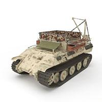 军事坦克模型