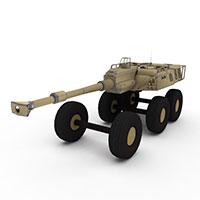 军用装甲车模型