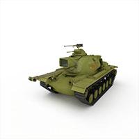 军用坦克车模型