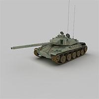 苏联T-34-85M中型坦克模型