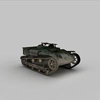 日军扫荡装甲车模型