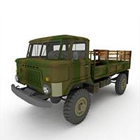 军用运输车模型
