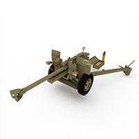 德国二战高射炮模型