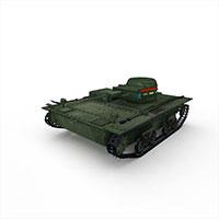 苏联LTP轻型坦克模型