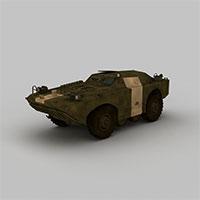 防爆装甲车模型