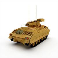 美国M2AB轻型坦克模型