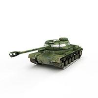 美国T34重型坦克模型