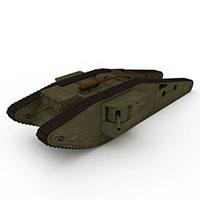 坦克装甲车模型