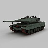 美国M103重型坦克模型
