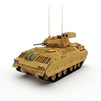 苏联T-80轻型坦克模型