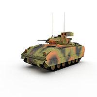 美国霞飞轻型坦克模型