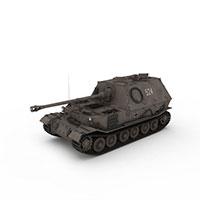 德国斐迪南反坦克模型