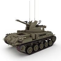 德国蟋蟀自行火炮模型