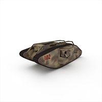 装甲坦克模型