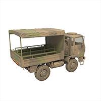 军用绿皮车模型
