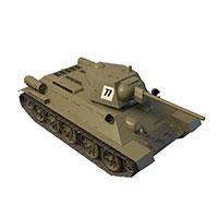 苏联BT-2坦克模型