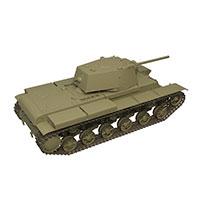 苏联KV-1重坦克模型