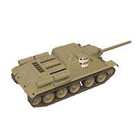 苏联SU-100反坦克模型