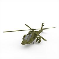 阿帕奇直升机模型