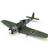 德国FW-190型战斗机模型