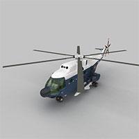 FRELON直升战斗机模型