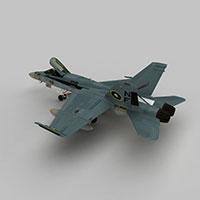 Hornet战斗机模型