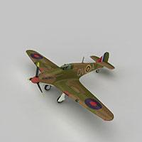 HURRIMK1战斗机模型