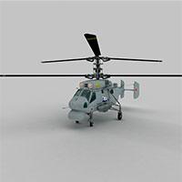KA25A直升战斗机模型