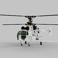 KA27直升战斗机模型