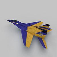 MIG29A战斗机模型